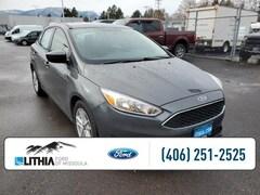 Used 2018 Ford Focus SE Sedan Missoula, MT