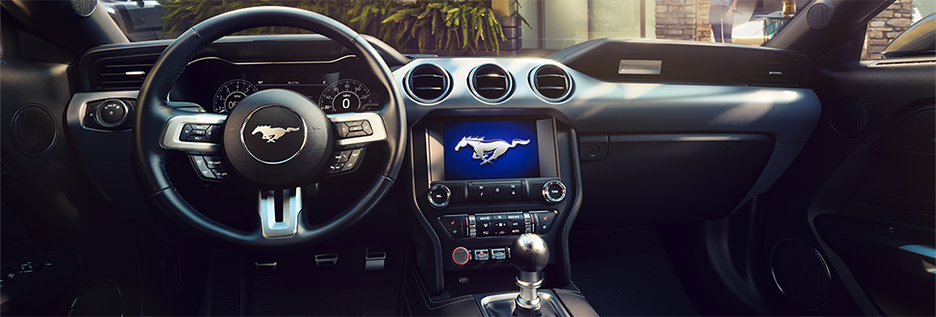Ford Mustang Interior Vehicle Features