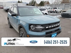 New 2021 Ford Bronco Sport Outer Banks 4x4 SUV Missoula, MT