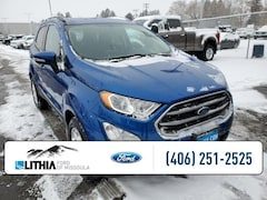 New 2021 Ford EcoSport SE 4WD SUV Missoula, MT