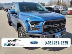 Used 2019 Ford F-150 Raptor Truck SuperCrew Cab Missoula, MY