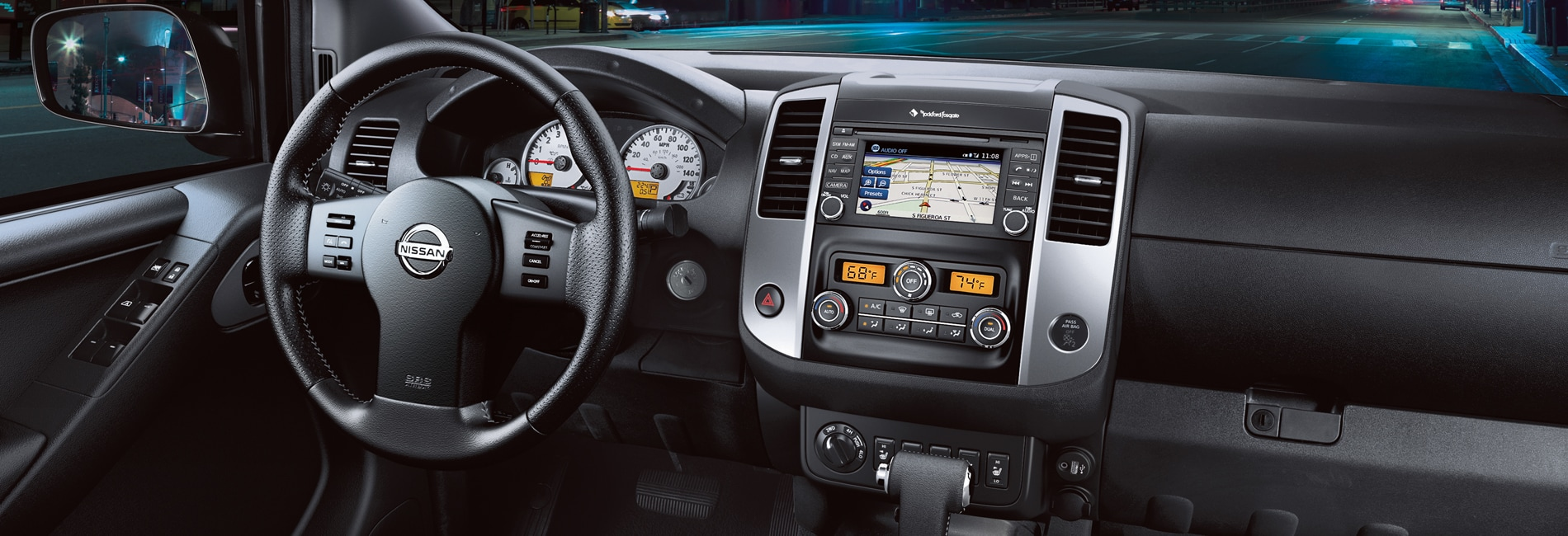 Nissan Frontier Interior Vehicle Features