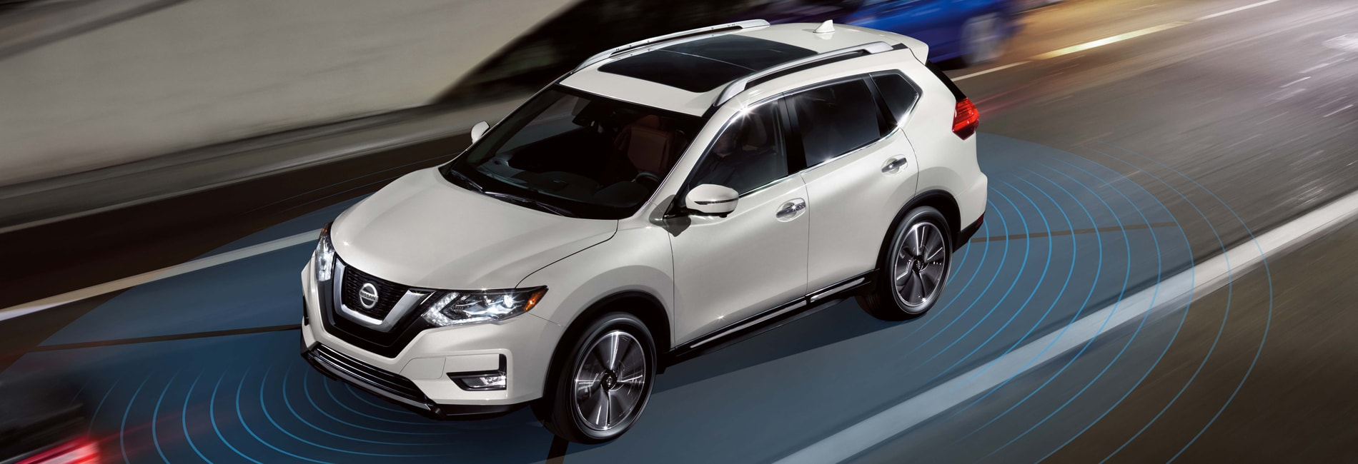 Nissan Rogue Exterior Vehicle Features