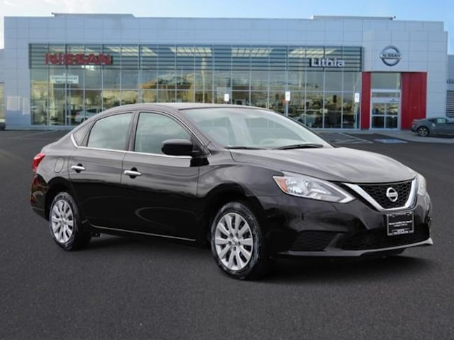 Certifed Pre-Owned 2017 Nissan Sentra SV CVT Sedan Medford, OR