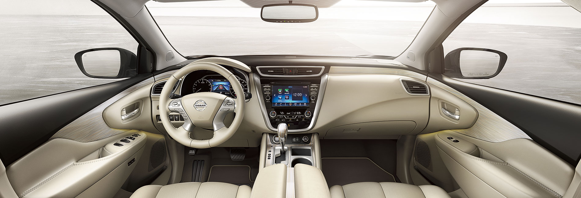 Nissan Murano Interior Vehicle Features