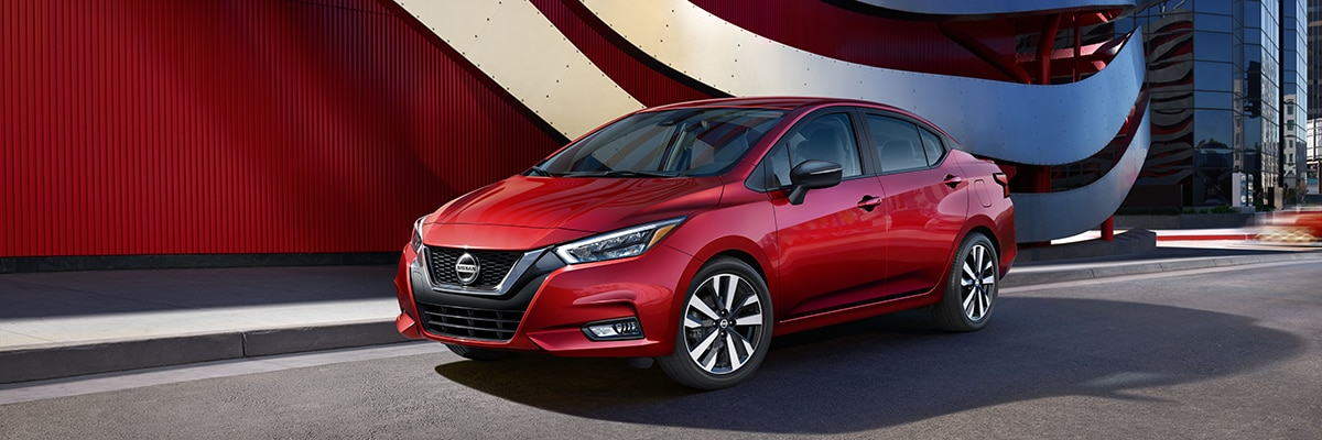 Nissan Versa Exterior Vehicle Features