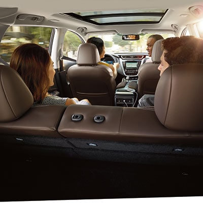 Nissan Murano Luxury Seating