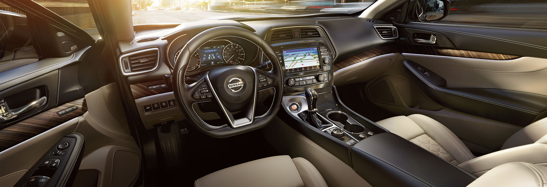 Nissan Maxima Interior Vehicle Features