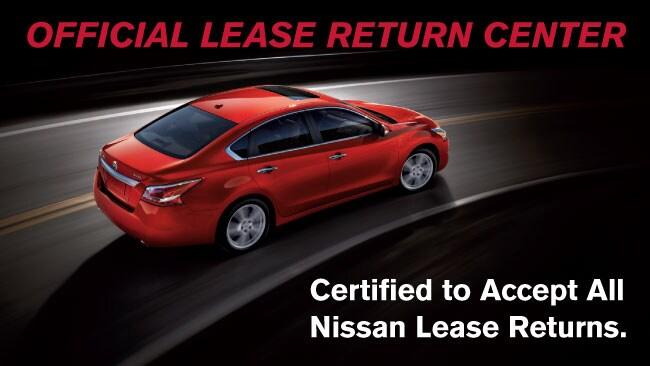 Nissan Lease Return Center in Medford, OR