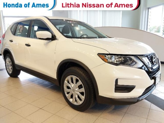 Used 2017 Nissan Rogue Awd S Suv Glacier White For Sale In Ames Ia