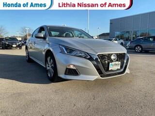 Certified Pre-Owned 2020 Nissan Altima 2.5 S Sedan Sedan Ames, IA