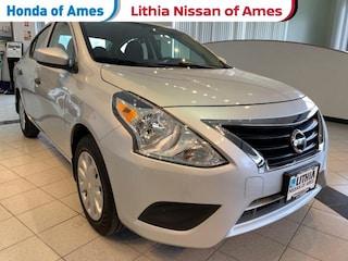 Used 2017 Nissan Versa S Plus CVT Sedan Ames, IA