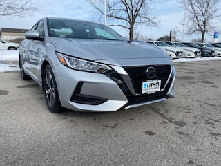 New 2020 Nissan Sentra SV Sedan Ames, IA