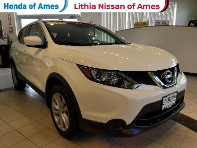 Used 2017 Nissan Rogue Sport Awd S Suv Glacier White For Sale In