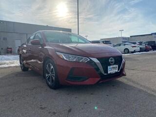 New 2021 Nissan Sentra SV Sedan Ames, IA