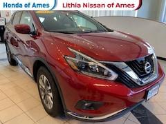 Used 2018 Nissan Murano AWD SV SUV Ames, IA