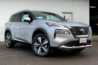 New 2021 Nissan Rogue Platinum SUV For sale in Eugene OR