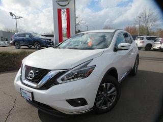 New 2018 Nissan Murano SV SUV Eugene, OR
