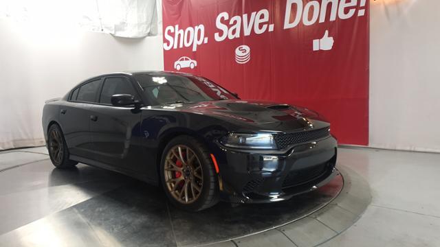 Used 2015 Dodge Charger SRT Hellcat Sedan Phantom Black Tri