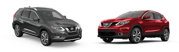 Nissan Rogue vs Nissan Rogue Sport
