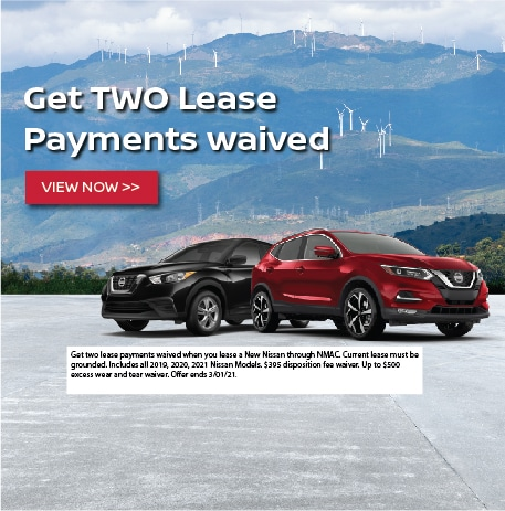 Get Two Lease Payments Waived