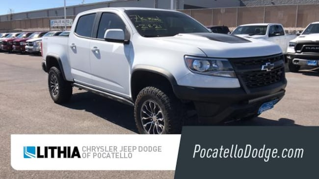 Used 2018 Chevrolet Colorado ZR2 Truck Crew Cab Pocatello, ID