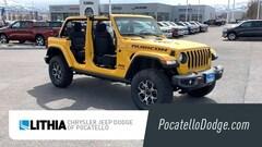 New 2019 Jeep Wrangler UNLIMITED RUBICON 4X4 Sport Utility For sale in Pocatello ID
