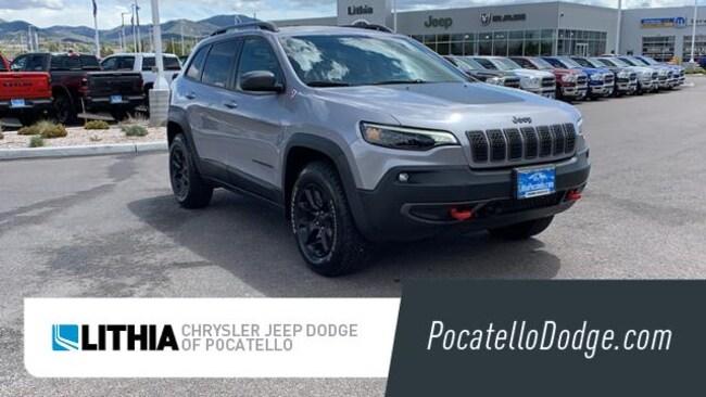 New 2019 Jeep Cherokee TRAILHAWK ELITE 4X4 Sport Utility Pocatello, ID