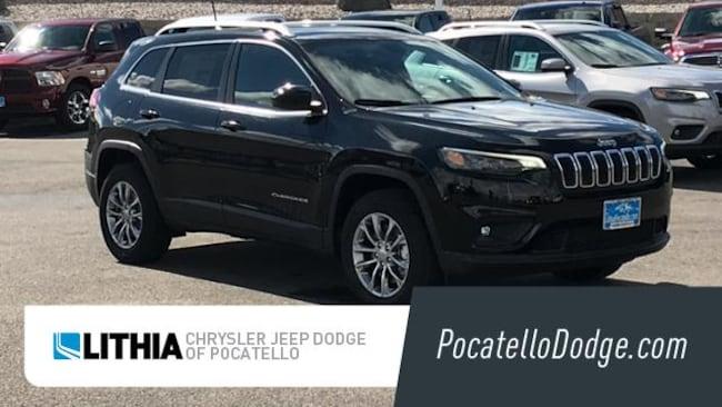 New 2019 Jeep Cherokee LATITUDE PLUS 4X4 Sport Utility Pocatello, ID