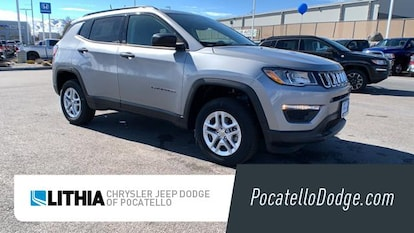2018 Jeep Compass SPORT 4X4 Sport Utility Billet Silver For