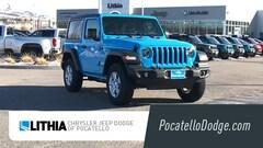 New 2021 Jeep Wrangler SPORT S 4X4 Sport Utility For sale in Pocatello ID