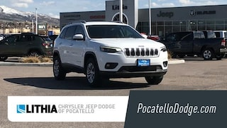 New 2021 Jeep Cherokee LATITUDE PLUS 4X4 Sport Utility Pocatello, ID