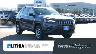 New 2021 Jeep Cherokee LATITUDE LUX 4X4 Sport Utility Pocatello, ID