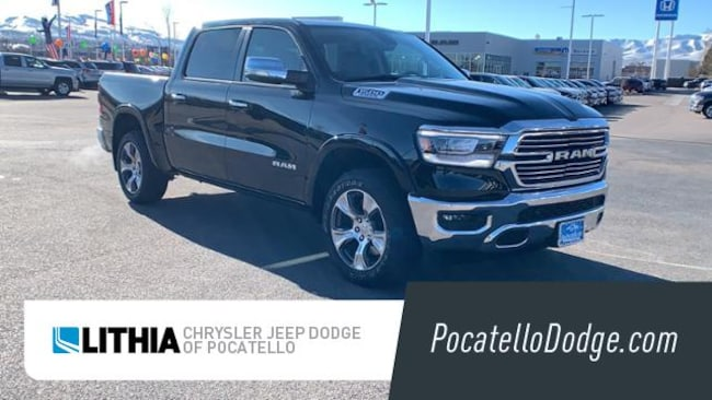 New 2019 Ram 1500 LARAMIE CREW CAB 4X4 5'7 BOX Crew Cab Pocatello, ID