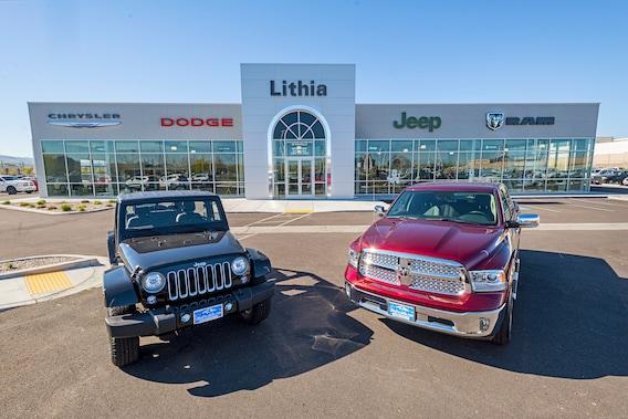 Lithia Chrysler Jeep Dodge >> Pocatello Dodge Ram Chrysler Jeep Dealership Serving