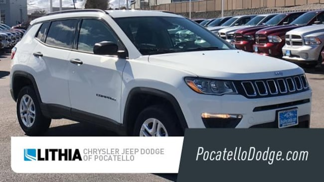 New 2018 Jeep Compass SPORT 4X4 Sport Utility Pocatello, ID