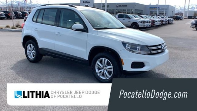 Used 2016 Volkswagen Tiguan 2.0T S Automatic with 4MOTION SUV Pocatello, ID