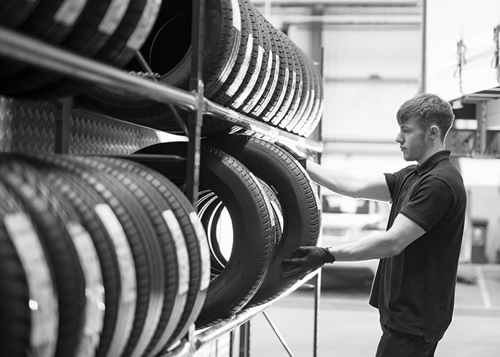 Car Tire Services at Prestige Toyota of Ramsey