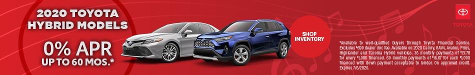 2020 Toyota Hybrid Models