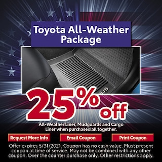 Toyota All-Weather Package