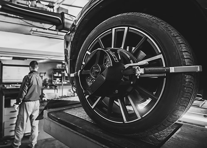 4-Wheel Alignment Services at Prestige Toyota of Ramsey