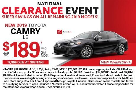 New Toyota Car Offers New Toyota Specials Near Ramsey Nj