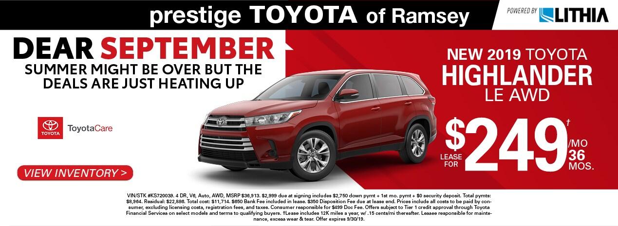 New Amp Used Toyota Vehicles Toyota Dealer Serving Ramsey Nj
