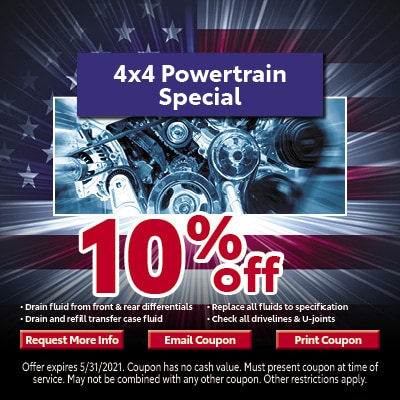 4x4 Powertrain Special