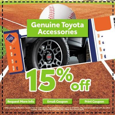 Genuine Toyota Accessories