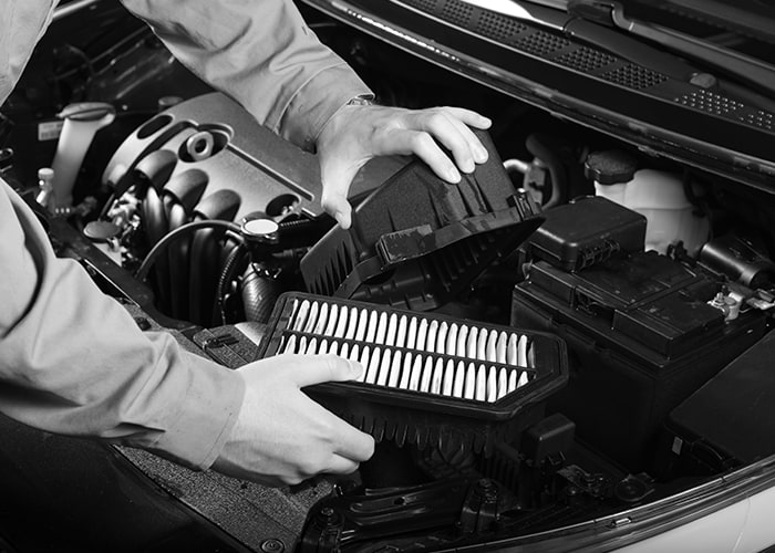Engine Air Filter Services at Prestige Toyota of Ramsey