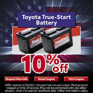 Toyota True-Start Battery