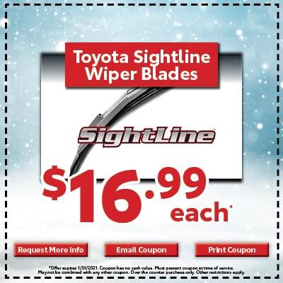 Toyota Sightline Wiper Blades