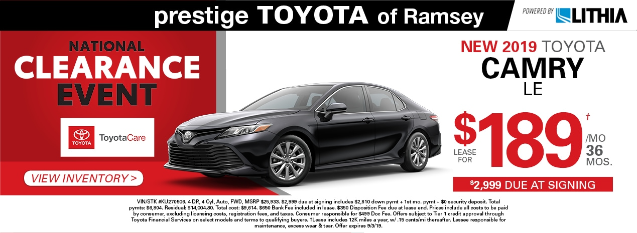 New Used Toyota Vehicles Toyota Dealer Serving Ramsey Nj