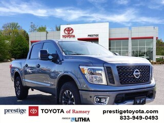 Used 2018 Nissan Titan PRO-4X Truck Crew Cab Ramsey NJ